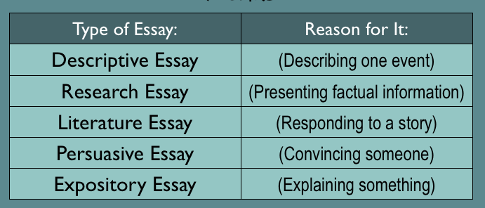 Different kinds of writing - The Best Place to Buy Same day essay.